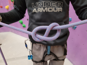 Getting Knotty with Climbing